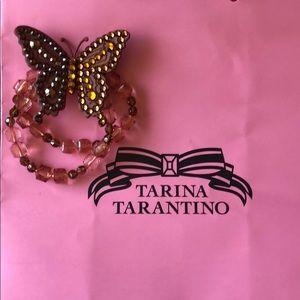 Tarina Tarantino Brown Butterfly Bracelet